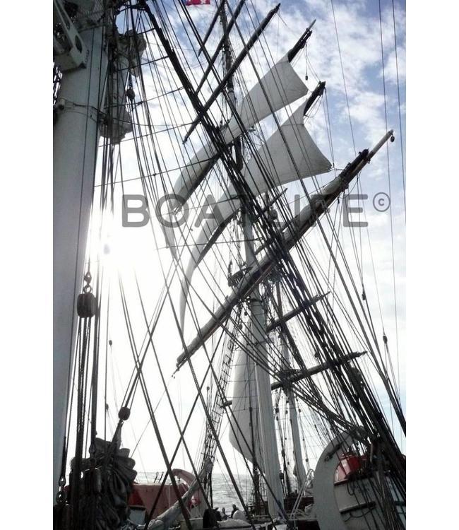 Boatlife Schilderij boot Stad Amsterdam E1