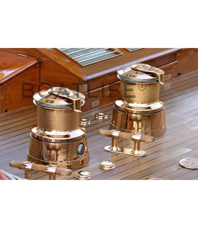 Boatlife Schilderij boot klassiek lieren G1