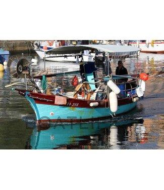 Boatlife Schilderij vissersboot Corsica J1