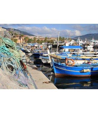 Boatlife Schilderij vissersboot Corsica J2