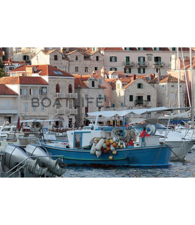 Boatlife Schilderij boot Hvar J3