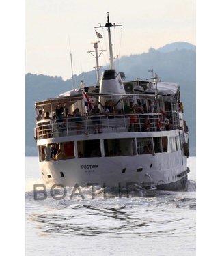 Boatlife Schilderij boot zeegezicht L1