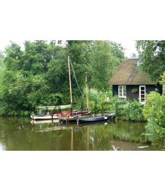 Boatlife Schilderij Nederland waterland P1