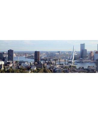 Boatlife Schilderij Rotterdam haven panorama R2