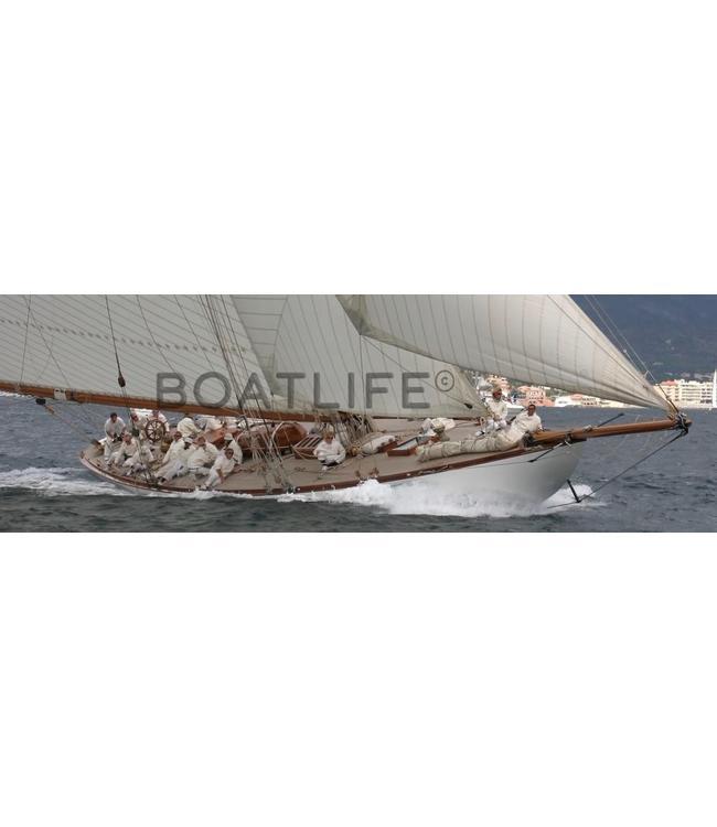 Boatlife Schilderij zeilboot panorama A2