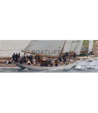 Boatlife Schilderij zeilboot panorama A1