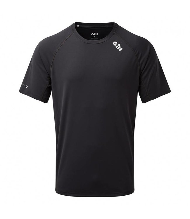 Gill T-shirt UV50+ Race korte mouw heren zwart