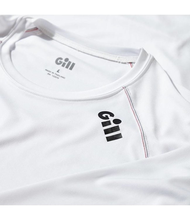 Gill Shirt Race lange mouw heren wit