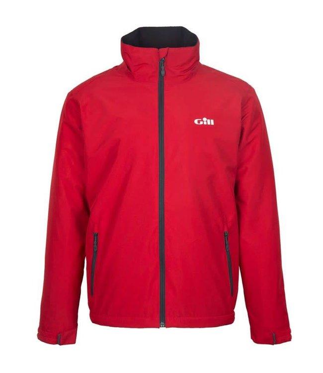 Gill Crew jack Sport fleece gevoerd rood