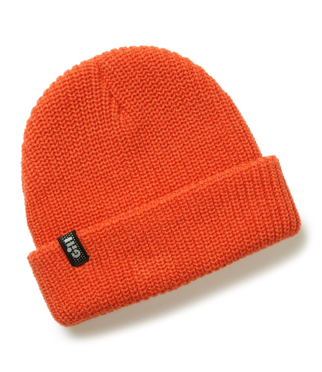 Gill Muts drijvend gebreid oranje