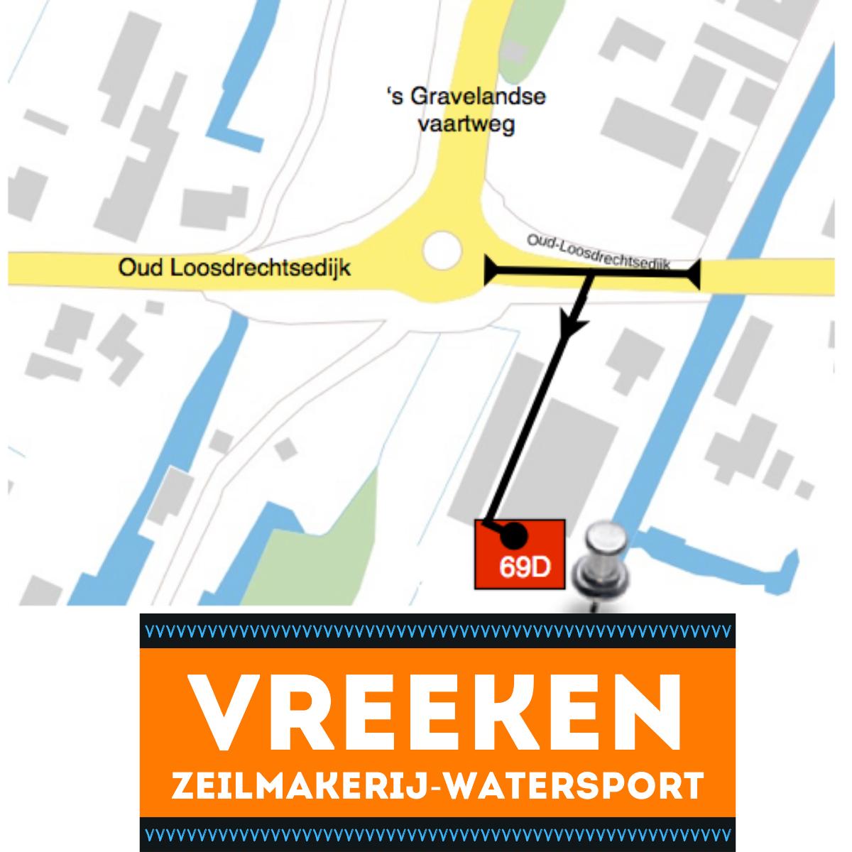 Vreeken watersport nieuwe adres