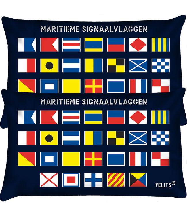 Velits Buitenkussen seinvlaggen