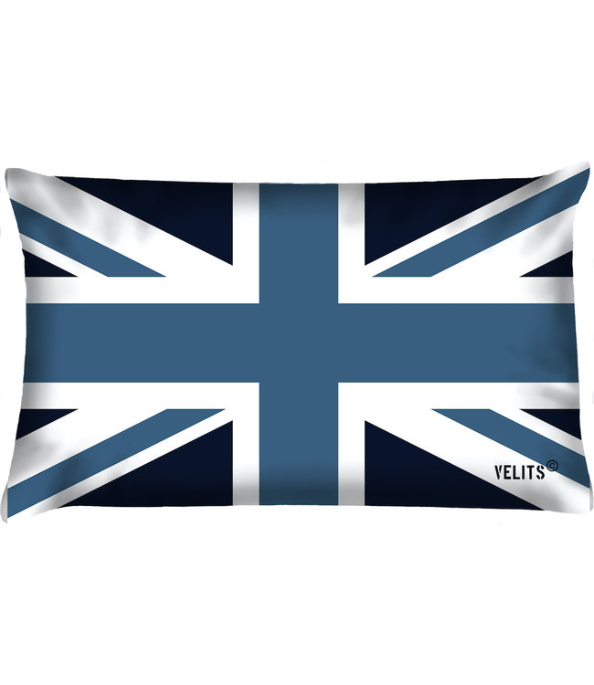 Velits Bootkussen vlag Engeland blauw
