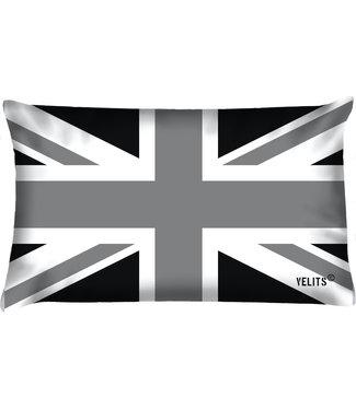 Velits Bootkussen vlag Engeland zwart wit
