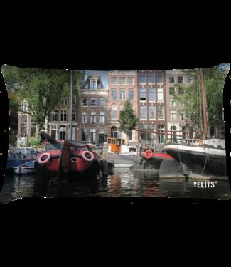 Velits Buitenkussen Amsterdam grachten Dutchies in kleur