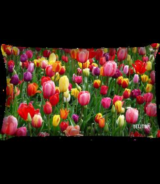 Velits Buitenkussen la tulipe