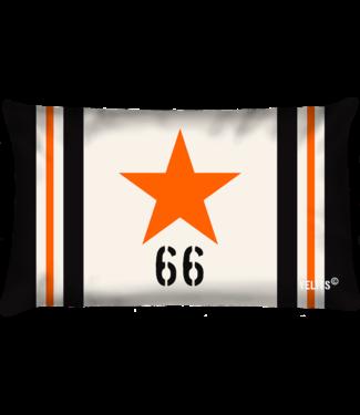 Velits Buitenkussen Orange is New Black Star ecru