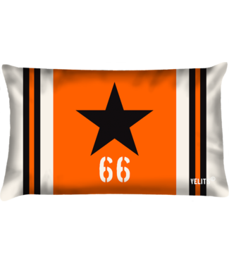 Velits Buitenkussen Orange is New Black Star zwart