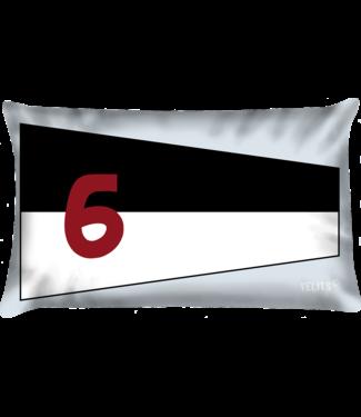 Velits Sierkussen seinvlag nr. 6