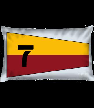 Velits Sierkussen seinvlag nr. 7