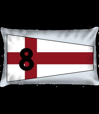 Velits Sierkussen seinvlag nr. 8