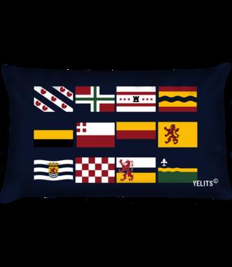 Velits Bootkussen provincie vlaggen