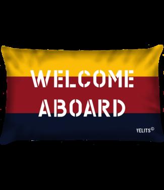 Velits Sierkussen Regata Welcome aboard