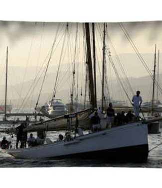 Velits Bootkussen klassiek zeilboot haven