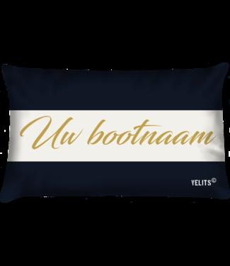 Velits Bootkussen Truly Classic met  bootnaam