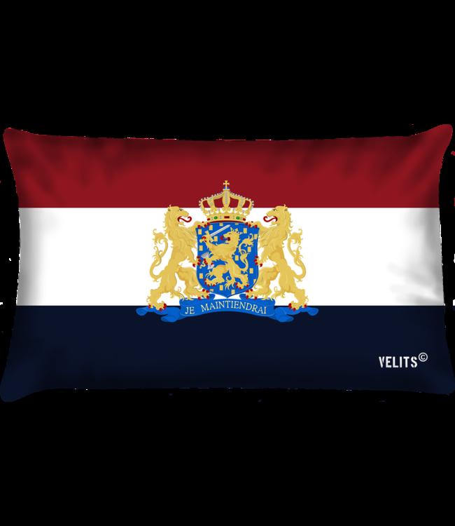Velits Buitenkussen Hollands Glorie Rijkswapen