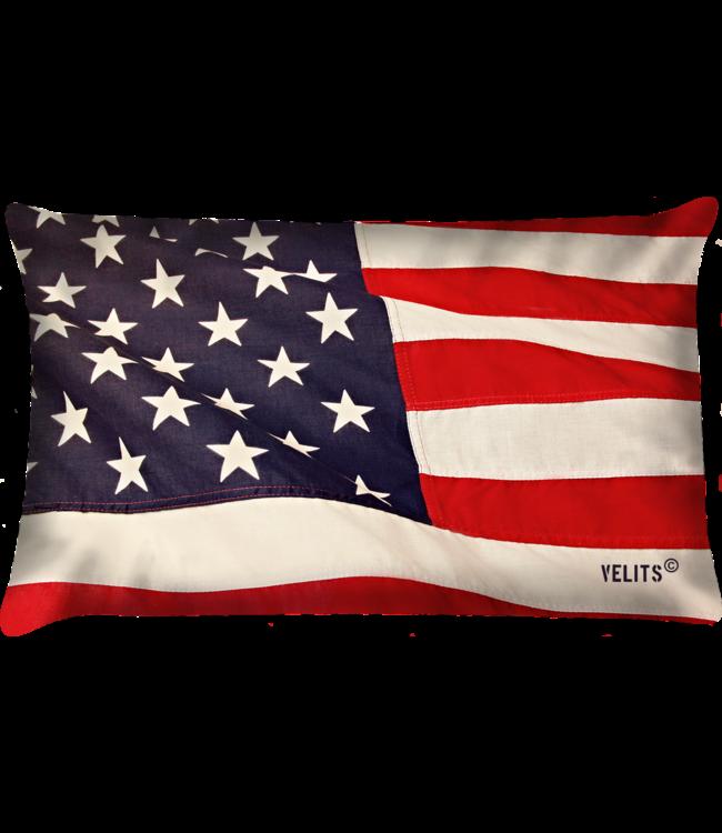 Velits Bootkussen USA Waving Flag