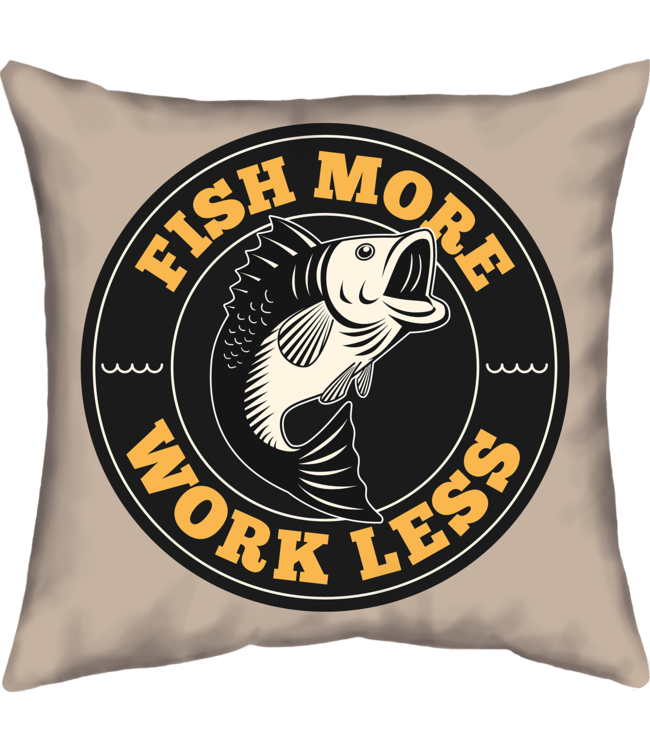 Velits Buitenkussen Work Less, Fish More