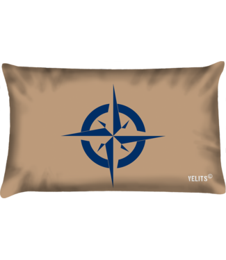 Velits Buitenkussen Denim Original kompas
