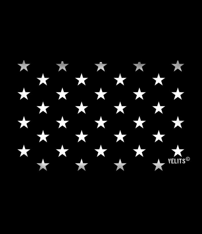 Velits Buitenkussen Men in Black Starry Night
