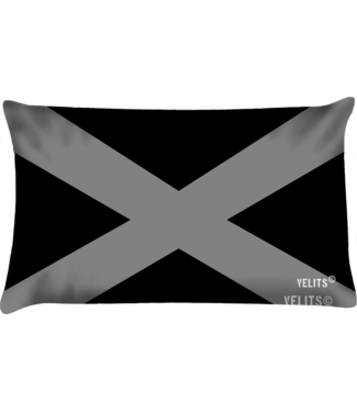 Velits Buitenkussen Men in Black Cross