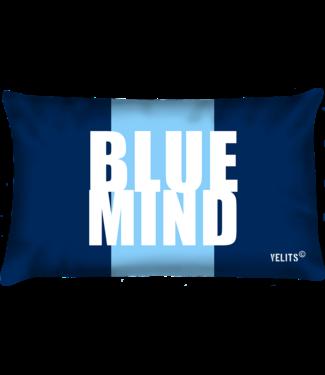 Velits Buitenkussen Blauw Bloed Blue Mind