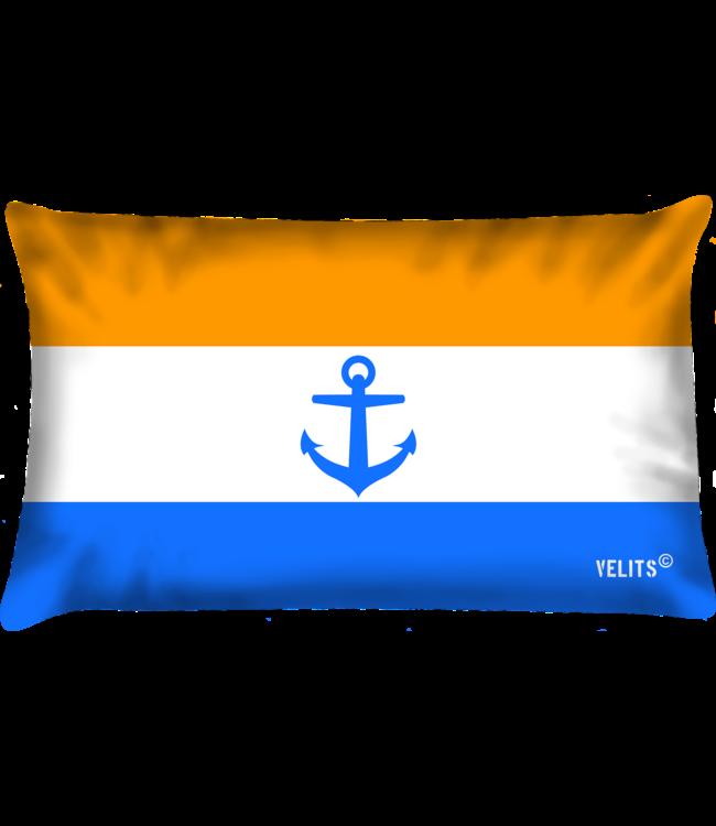 Velits Bootkussen Oranje Blanje Bleu Nederland