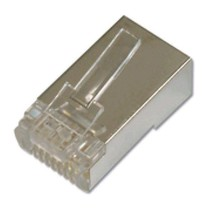 CAT6 connector RJ45 shielded / 10 st