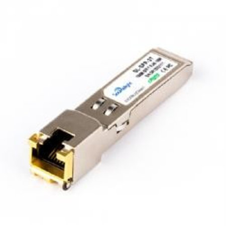 SFP Tranceiver/Adapter , Copper SFP 10/100/1000BASE-T RJ45
