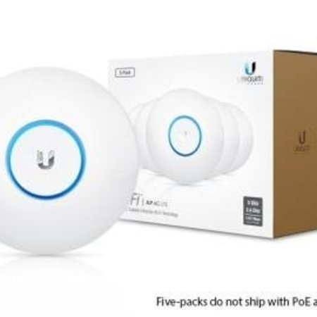 UBIQUITI Ubiquiti UniFi AP, AC PRO, 5-Pack, PoE Not Included