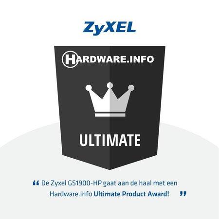 ZyXEL ZyXEL GS1900-8HP, V2