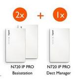 GIGASET Gigaset N720 starterkit (2x IP - 1x DM) promobundel, spaar mee voor BBQ punten
