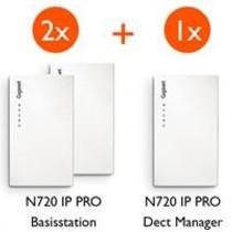 Gigaset N720 starterkit (2x IP - 1x DM) promobundel