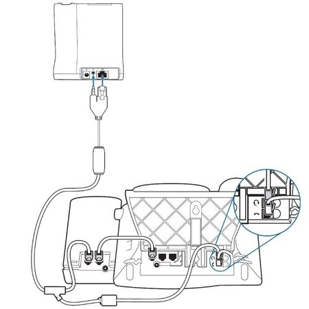 Plantronics EHS RJ-9 kabel