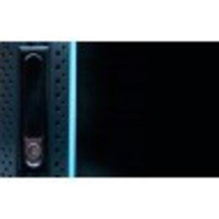 22U Serverkast 800mm met glazen deur