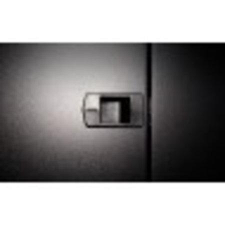 22U Patchkast 1000mm met glazen deur