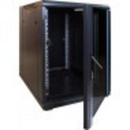 15U Mini Serverkast met glazen deur