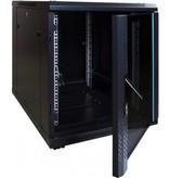12U Mini Serverkast met glazen deur