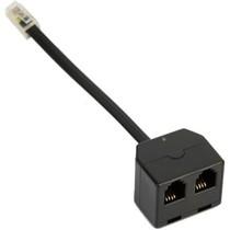 Jabra headset handset plug jack T-adpater 1600-289