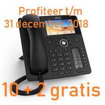 SNOM D785 (4349) promo 10+2 gratis, t/m 31 december 2018